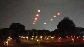台灣設計展無人機燈光秀  燈會團隊操