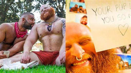 同志,滿足,邪教,疑似,寵物,刺青,澳洲,陰囊,籃球,移民,儀式, 圖/翻攝自Jack Chapman臉書