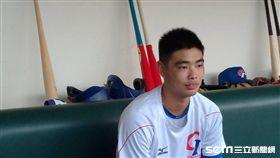 ▲亞錦賽18歲台灣國手陳柏毓。(圖/記者蕭保祥攝影)