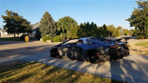 ▲3D列印製作Lamborghini Aventador。(圖/翻攝網站)