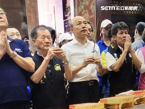 韓國瑜,民調,總統,2020,請假