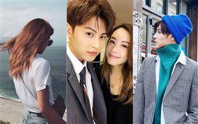 王子(邱勝翊)在女友生日當天PO照祝福/香港女星鄧麗欣(Stephy)。翻攝臉書
