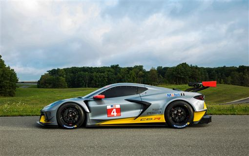 ▲賽道級Corvette C8.R。(圖/翻攝網站)