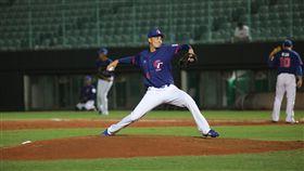 ▲亞錦賽18歲投手陳柏毓。(圖/中華棒協提供)