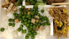 台北男吃便當…一打開「綠點」撲滿飯氣炸!網吐:生化攻擊(圖/翻攝自PTT)