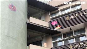 台北市張姓女子陳屍合江街大樓頂樓機房(讀者提供)