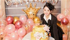 趙麗穎32歲生日。翻攝微博