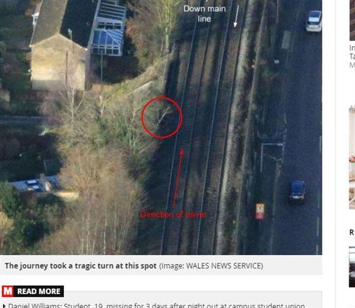 英國,火車,樹,身亡,命案,酒醉,喝酒https://www.mirror.co.uk/news/uk-news/woman-28-dies-hitting-head-20590452