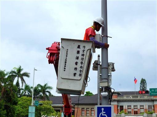 新竹市,空氣品質,設置,微型空氣品質感測器,守護健康(圖/新竹市政府提供)中央社