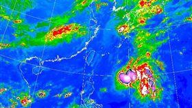 中央氣象局,氣象,颱風,熱帶性低氣壓,下雨 (圖/翻攝自中央氣象局