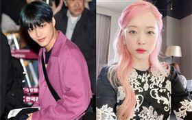 前南韓女團f(x)25歲成員雪莉17日出殯,跟她同公司「EXO」成員KAI因為當天在機場穿顏色鮮豔的亮紫色衣服挨轟。 微博