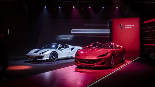 ▲Universo Ferrari法拉利世界特展(圖/Ferrari提供)