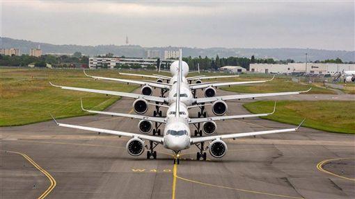 美國18日對價值75億美元的歐洲商品課徵關稅,空中巴士是備受矚目的目標。(圖取自twitter.com/Airbus)