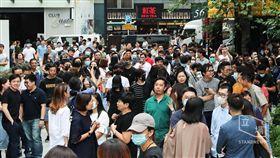 (16:9)香港,民陣,警隊,遊行,重組(圖/翻攝自Stand News)
