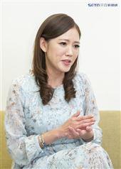 裴琳接受三立新聞網專訪。(圖/記者林士傑攝影)