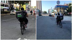 外送員,腳踏車,工作,小費,Uber eat(圖/翻攝自爆廢)