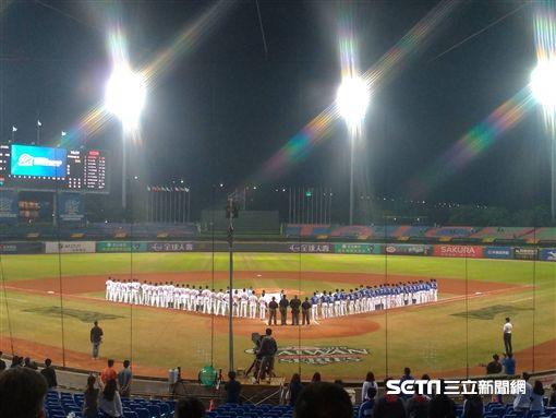 ▲亞錦賽台灣與韓國隊交手。(圖/記者蕭保祥攝影)