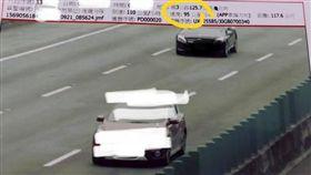 龜速車,超車道,時速,時速錶,罰單 圖/翻攝爆怨公社