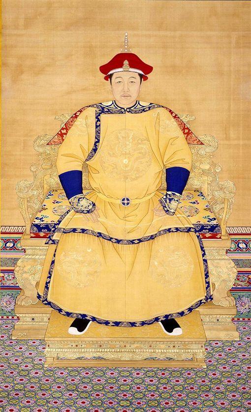 清世祖順治皇帝朝服像。(圖/翻攝自維基百科)