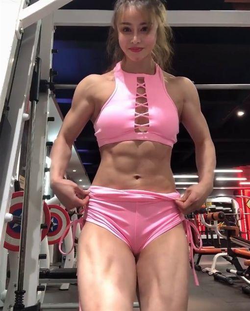 春麗,大腿肌,翹臀,健身/IG