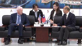 AIT主席莫健赴高雄拜會韓國瑜。