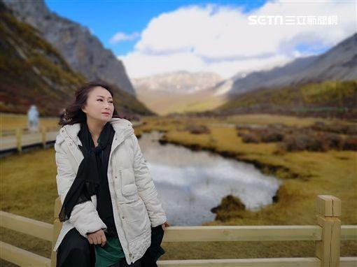 王瑞霞雪地拍攝MV新聞提供:米樂士娛樂