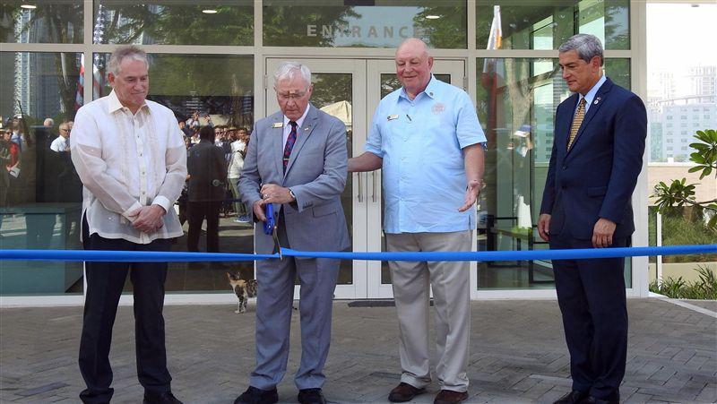 馬尼拉美軍公墓遊客中心開幕 彰顯美菲共同歷史