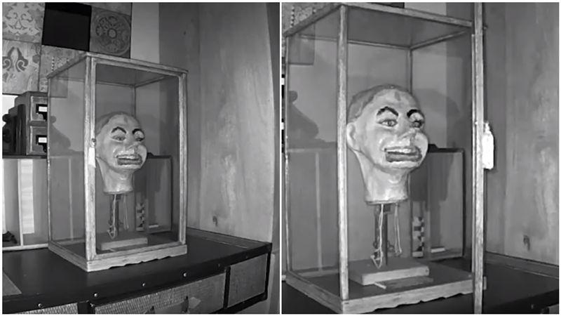 安娜貝爾好朋友?半夜開櫃門「裂嘴偷笑」…二戰詭人偶曝光