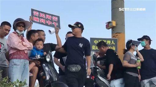 韓國瑜到台南激起民怨 抗議如影隨形
