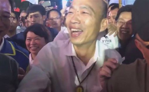韓國瑜 翻攝自臉書直播