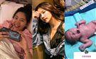陳艾琳生女兒了!寶寶剛出生就大長腿