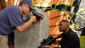 威爾史密斯《雙子殺手》海報/李安。(圖/翻攝自IMDB)