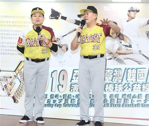 許效舜澎恰恰閃亮之星棒球隊記者會 記者邱榮吉攝影