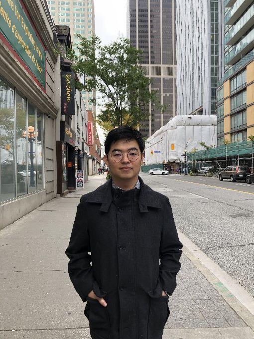 台灣僑民謝振富謝振富指出,未來不論是加拿大哪個政黨獲勝,都將是少數執政,很容易陷入不信任投票局面。中央社記者胡玉立多倫多攝  108年10月22日