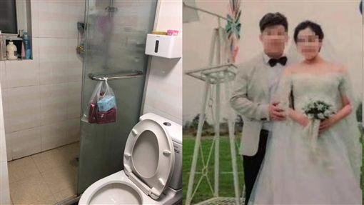 廁所,浴室,馬桶,毒氣,硫化氫,臭味,硫化氫,上海,化糞池,屁,死亡,致命 圖/翻攝自微博