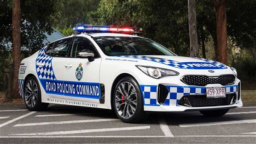 ▲澳洲警車Kia Stingers(圖/翻攝motor1)