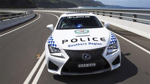 ▲澳洲警車Lexus RC F(圖/翻攝motor1)