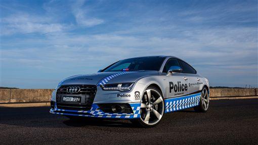 ▲澳洲警車Audi S7 Sportback(圖/翻攝motor1)