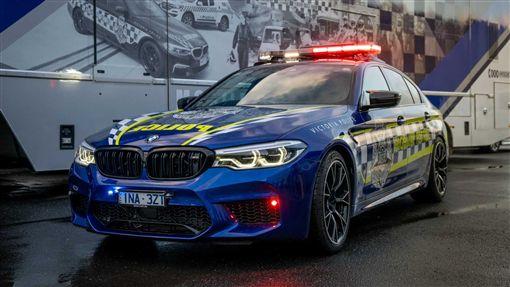 ▲澳洲警車BMW M5 Competition(圖/翻攝motor1)