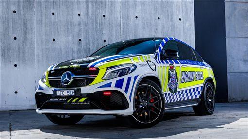 ▲澳洲警車Mercedes-AMG GLE 63 S Coupe(圖/翻攝motor1)