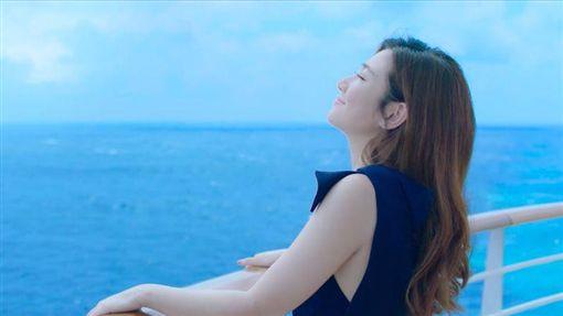Selina任家萱嬌喊收工下船後只能當「減肥公主」了。(公主遊輪提供)