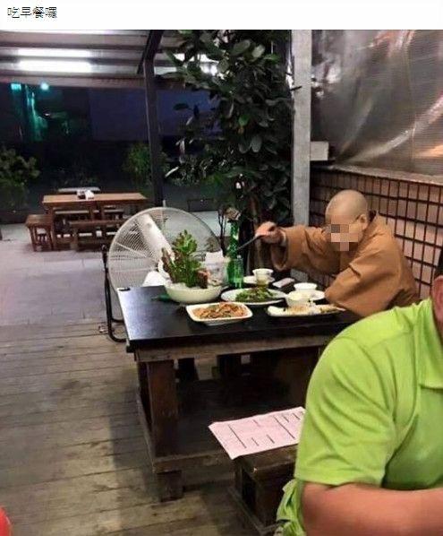 出家人,熱炒,佳餚,大魚大肉,加藤鷹台灣粉絲團2.0 圖/翻攝自臉書加藤鷹台灣粉絲團2.0