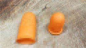 保險套,情侶,恩愛,指套,顆粒 圖/翻攝爆廢公社公開版