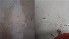 壁畫,壁虎,理由,姐姐,塗鴉,Dcard 圖/翻攝自Dcard