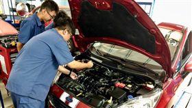 ▲Ford強化台灣汽車技職教育體系(圖/Ford提供)