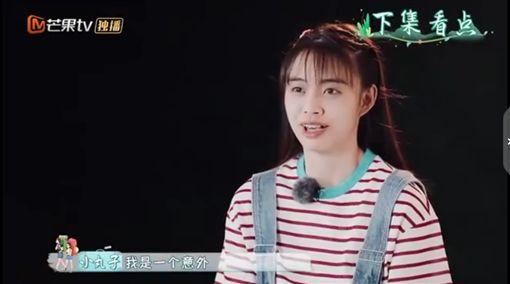 信跟女兒(圖/翻攝自新浪綜藝微博)
