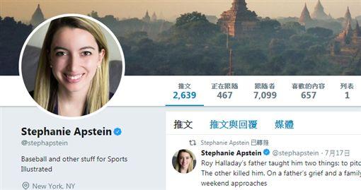 ▲Stephanie Apstein。(圖/取自推特)