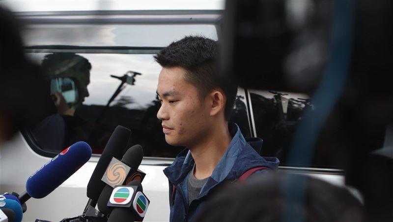 管浩鳴:陳同佳今天不會赴台 盼獲公平審訊