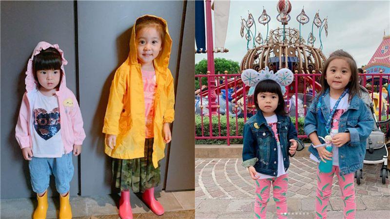 身高超過賈靜雯的腰!4歲咘咘遺傳媽媽「長腿比例神基因」
