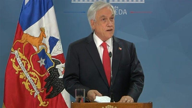 智利示威延燒5天 總統致歉宣布相關社會措施